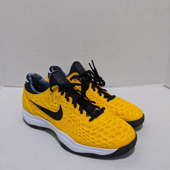 GOLD CLAY ZOOM MENS 918 3 NEW NWT CAGE NIKE UNIVERSITY uTKl3JF1c